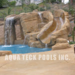 artificial rock work for pools