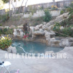 artificial rock work repair Los Angeles