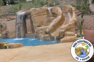 Artificial Rock Swimming Pools